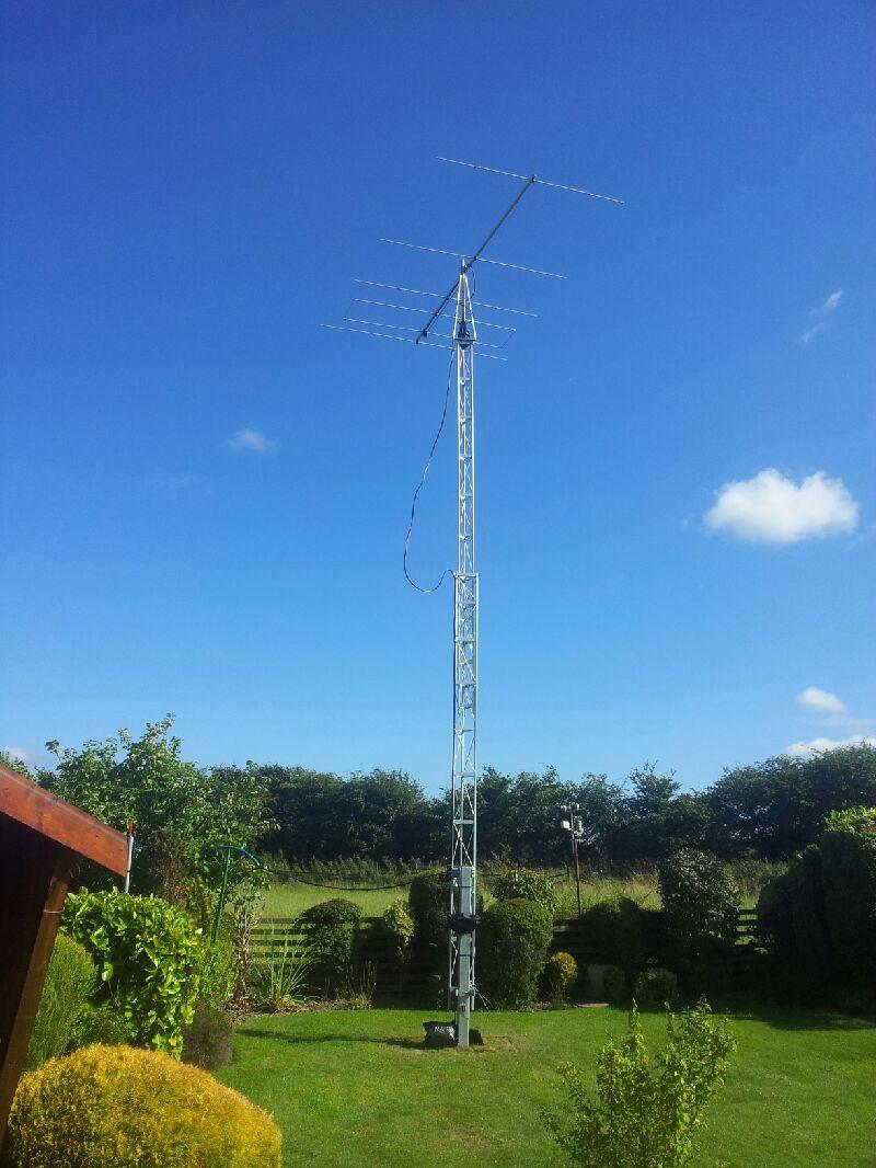 mm0cug masts and HF antenna kits for amateur radio
