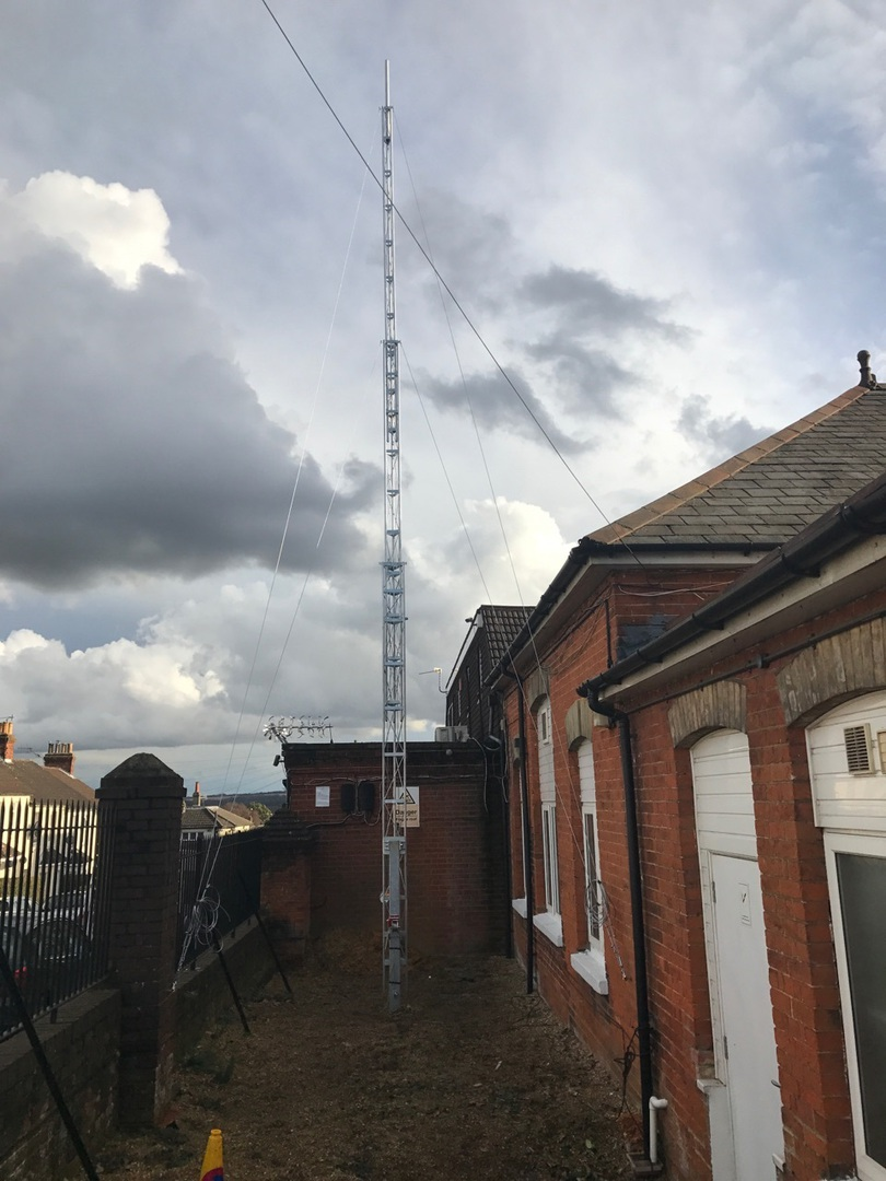 mm0cug masts and HF antenna kits for amateur radio enthusiasts